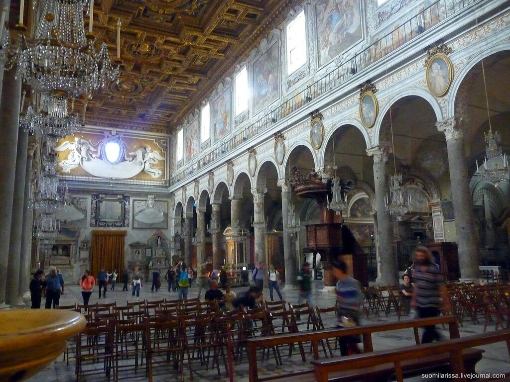 Церковь Santa Maria in Aracoeli
