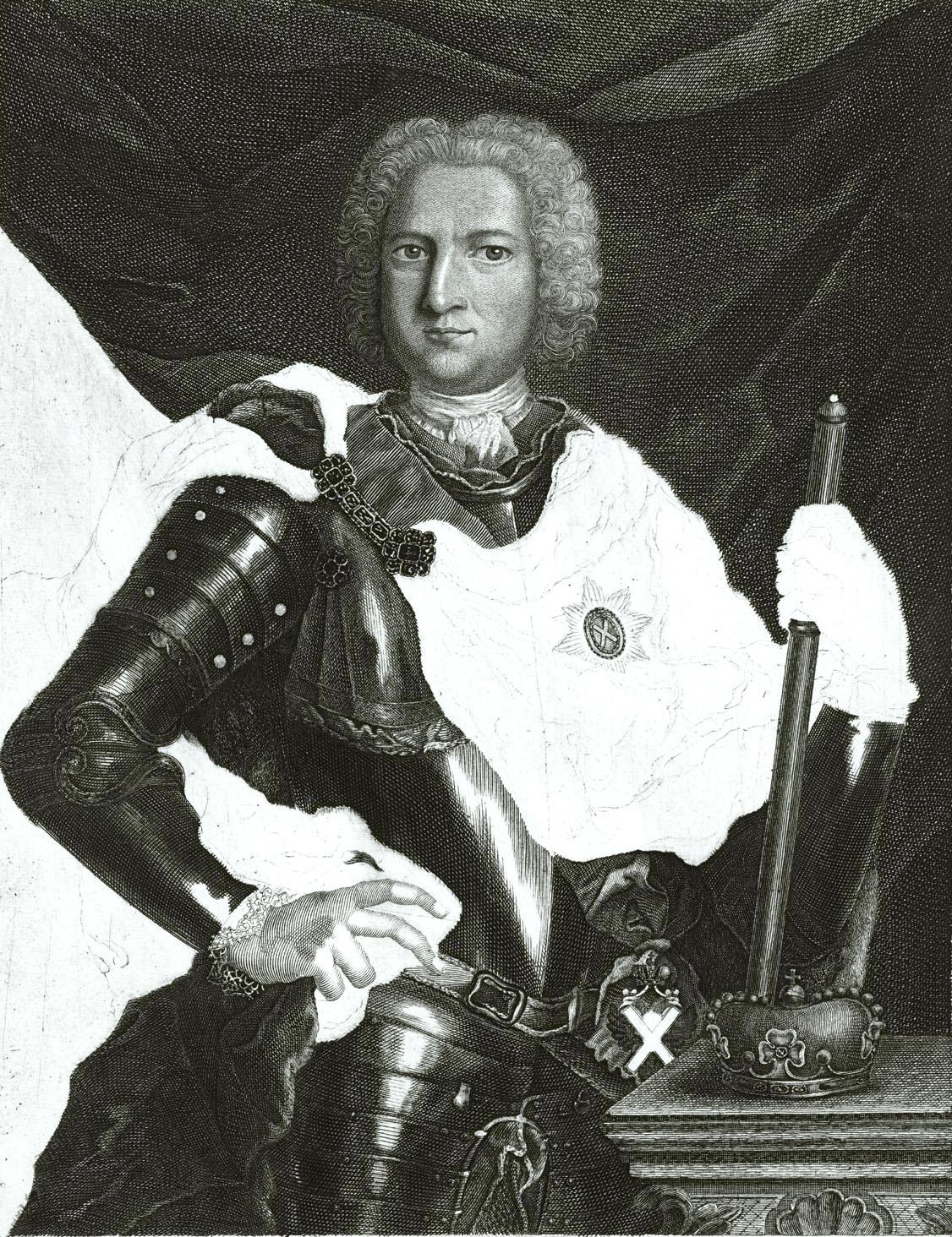 65. Эрнест Иоганн Бирон, герцог Курляндский