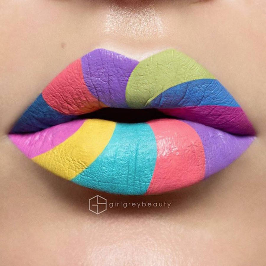 Artistic Lip Make-up by Andrea Reed (9 pics)