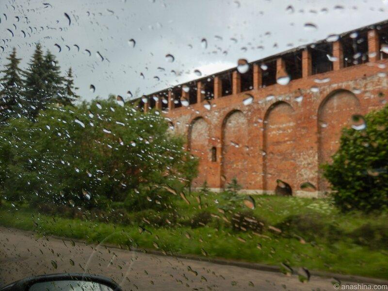 Крепостные стены, Смоленск