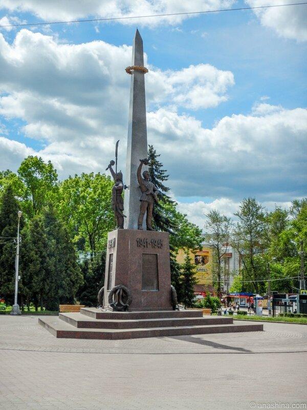 Памятник воинам-защитникам Смоленска, Смоленск