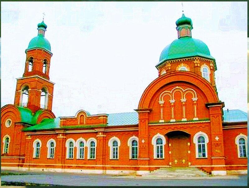 Церковь Казанской иконы Божией Матери в селе Увары в Камызякском районе Астраханской области.jpg