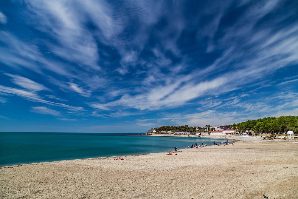 Пляжи в дивноморском фото отзывы