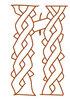 Буквица И (иже), 14 век