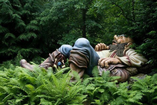 Парк развлечений Эфтелинг (Efteling). Нидерланды