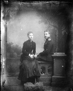 1883. Елизавета и великий князь Константин Константинович