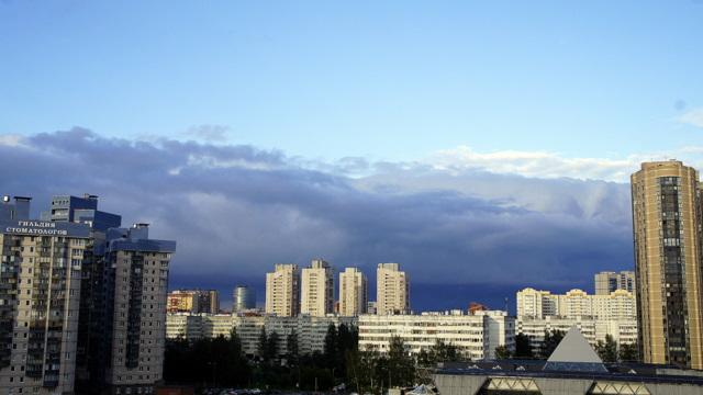 небо, вечер, 18.07.16