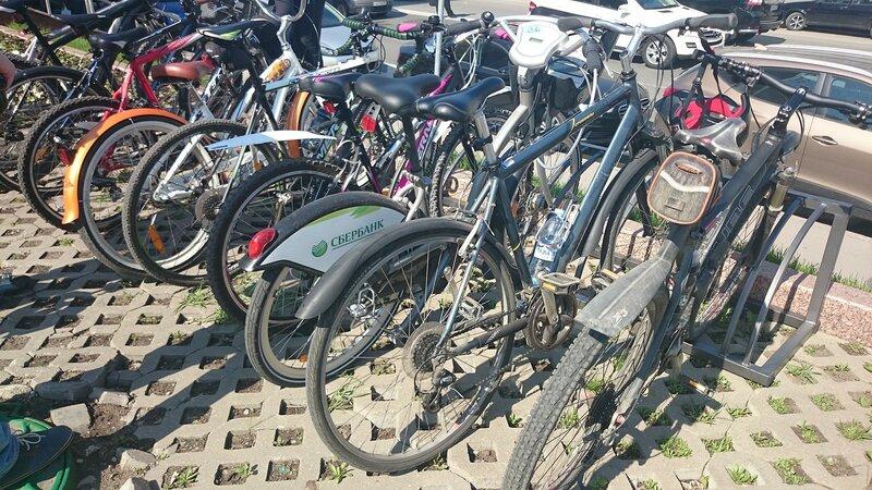 Акция Правительства Москвы - На работу на велосипеде