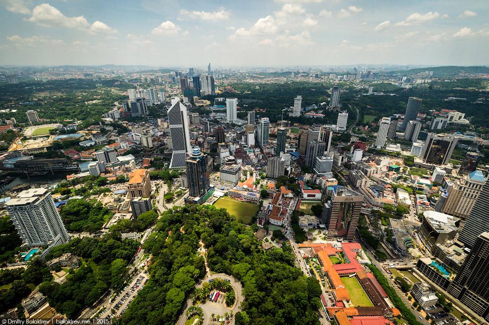 Куала-Лумпур с высоты