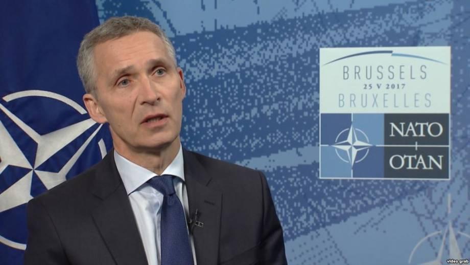 Столтенберґ: надо честно распределять нагрузку относительно оборонных расходов в НАТО