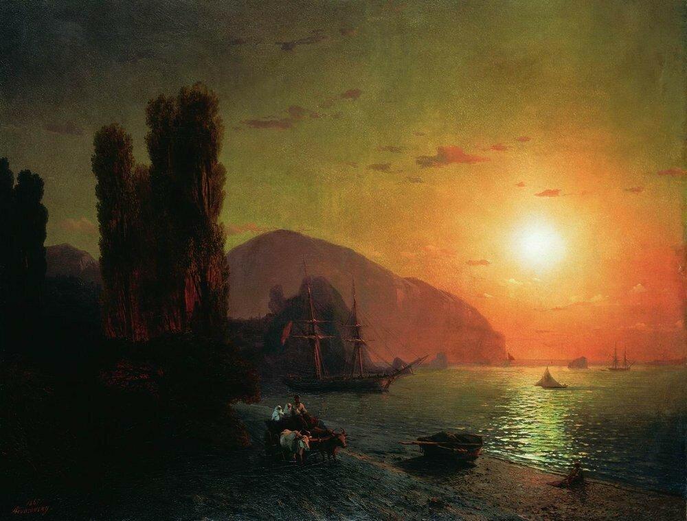 Крымский вид. Аю-Даг. 1865.jpg