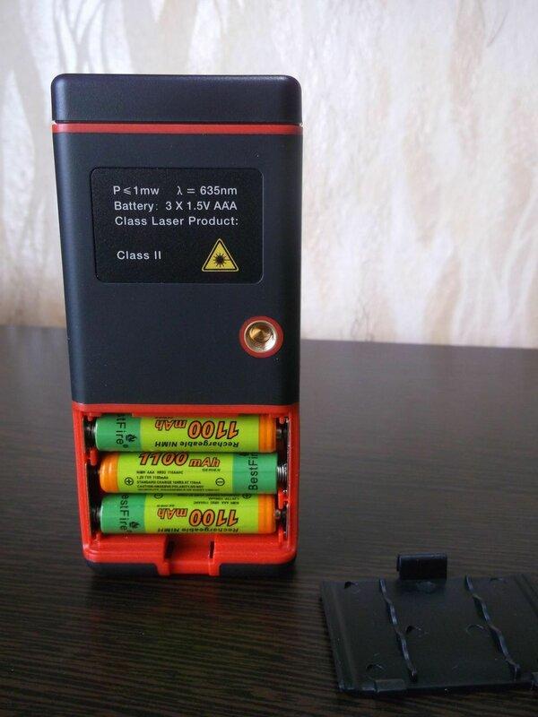TomTop: Бытовой лазерный дальномер RZE-50