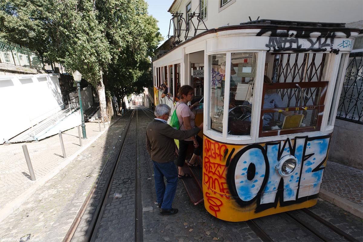 фото, фотография, Лиссабон, подъемник, лифт, трамвай, фуникулер, санта-жушта