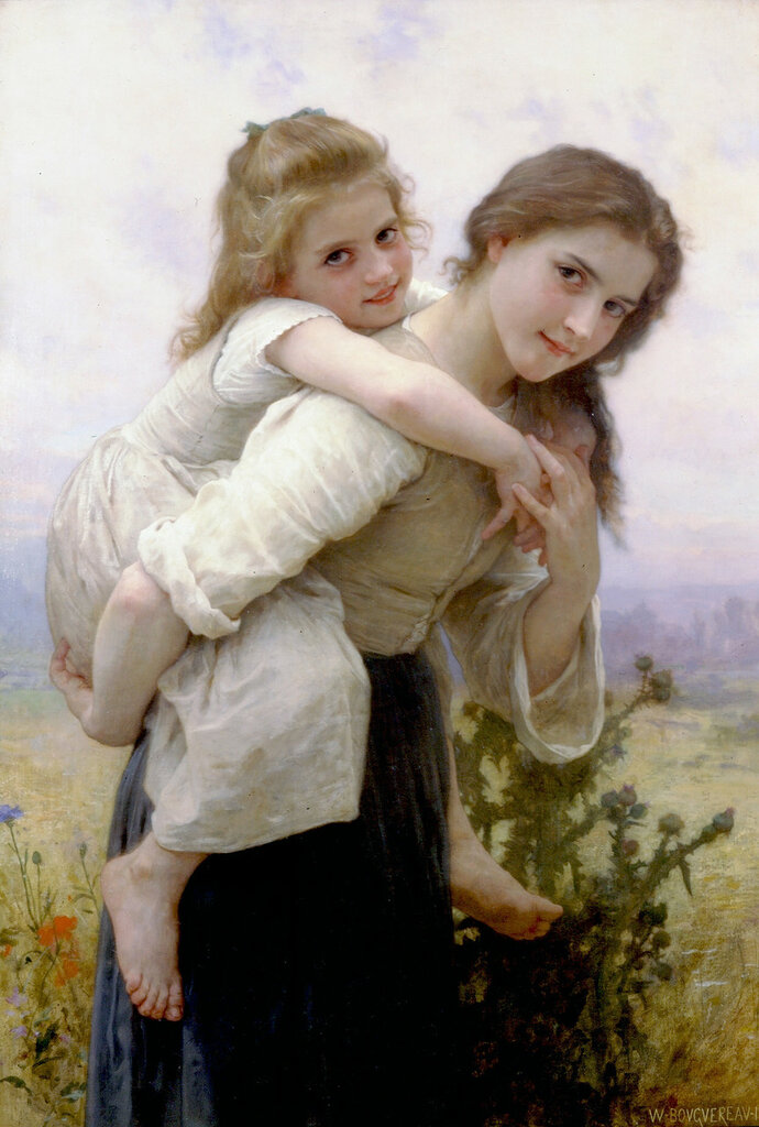 William-Adolphe_Bouguereau_(1825-1905)_-_Not_Too_Much_To_Carry_(1895).jpg