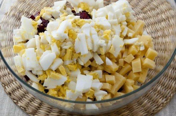 Салат свекольный рецепт