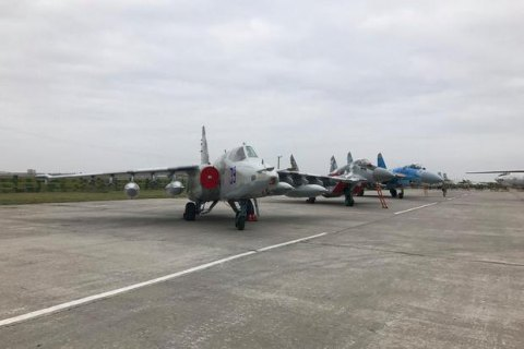 Минобороны Украины: Воздушные силы ВСУ в2015г. получат 60 модернизированных самолетов