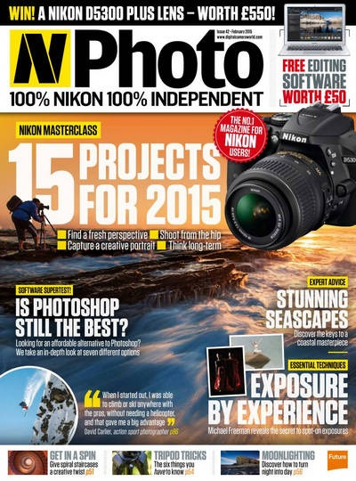 Подшивка журналов : N-Photo №№41, 42 (январь, февраль 2015) [En]