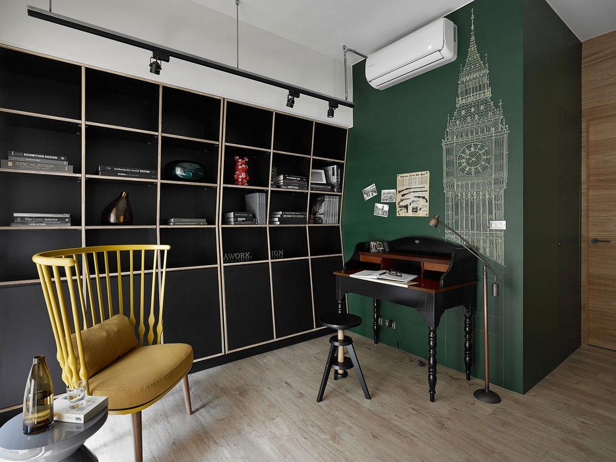 AworkDesign.studio, K house, фото лофт, современный интерьер, квартира в стиле лофта, интерьер в стиле лофта, дизайн интерьера фото, квартира в Тайване