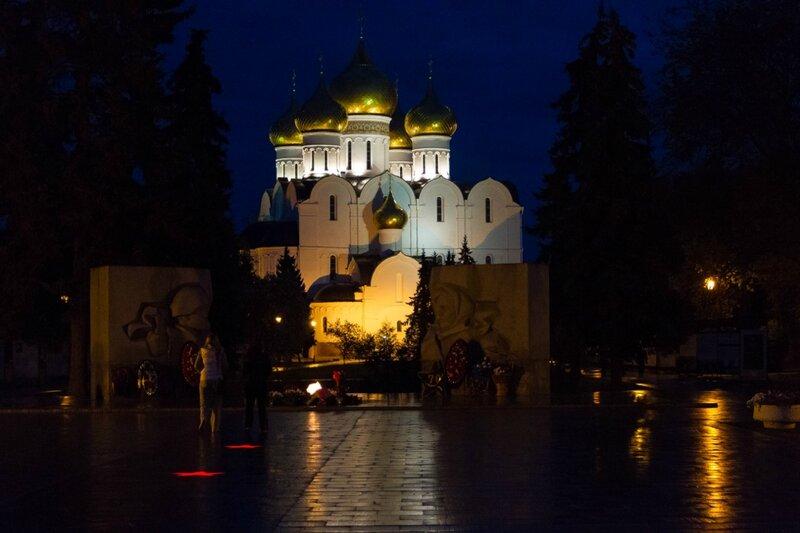 Успенский собор, Вечный огонь, Ярославль