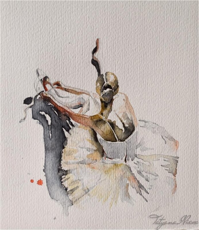 Акварельные сны тонкой вязью из лунного света... Художник Tatyana Ilieva