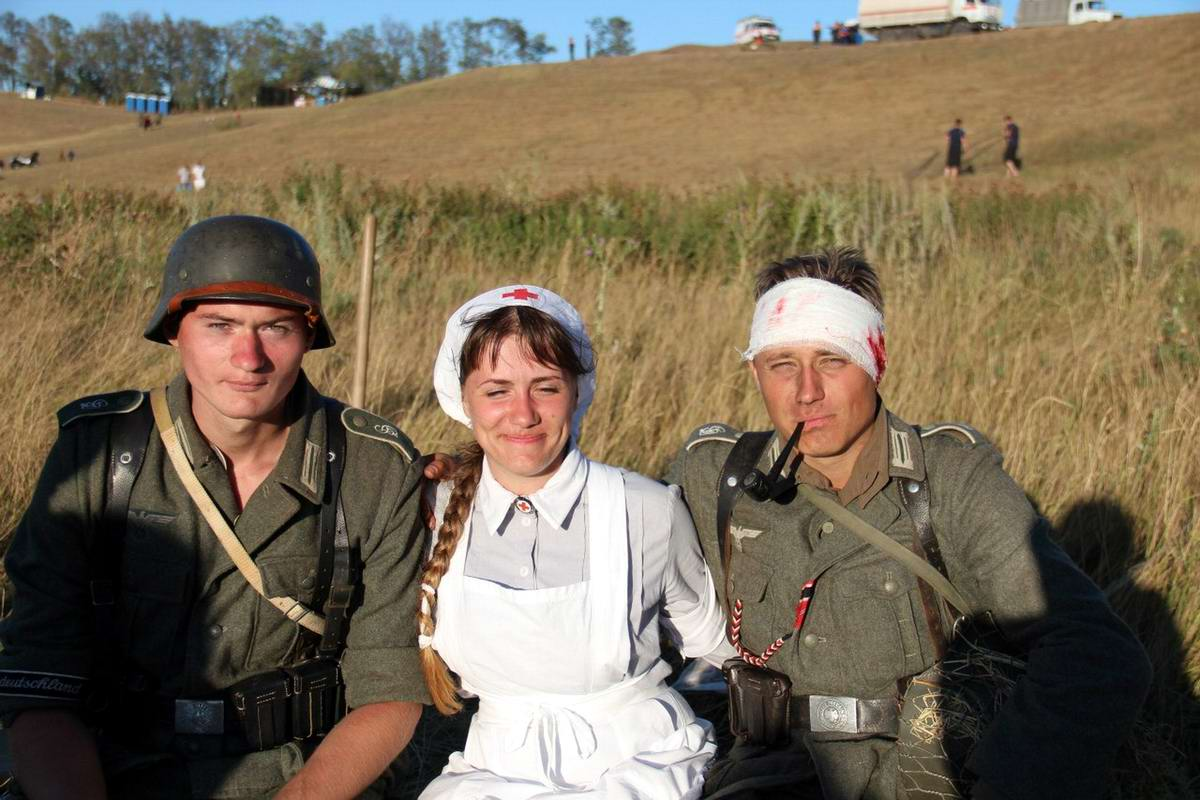 Забавные моменты из жизни военных реконструкторов (77)