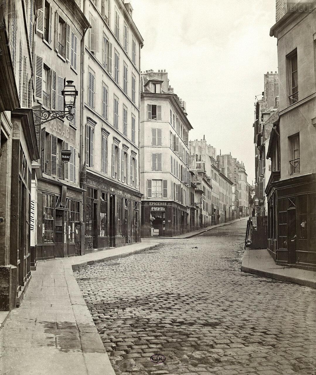 Рю дю-Роше. 1866