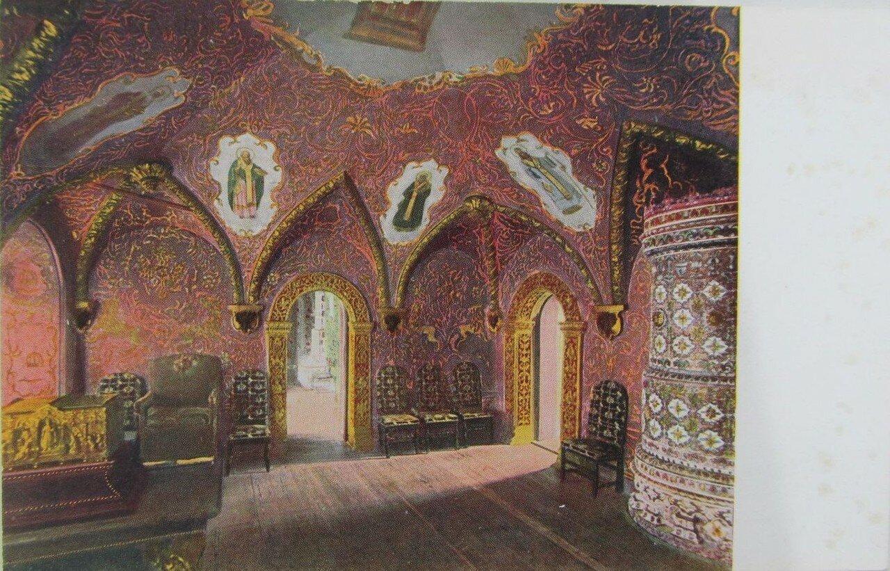 Кремль. Тронная палата в Теремном дворце