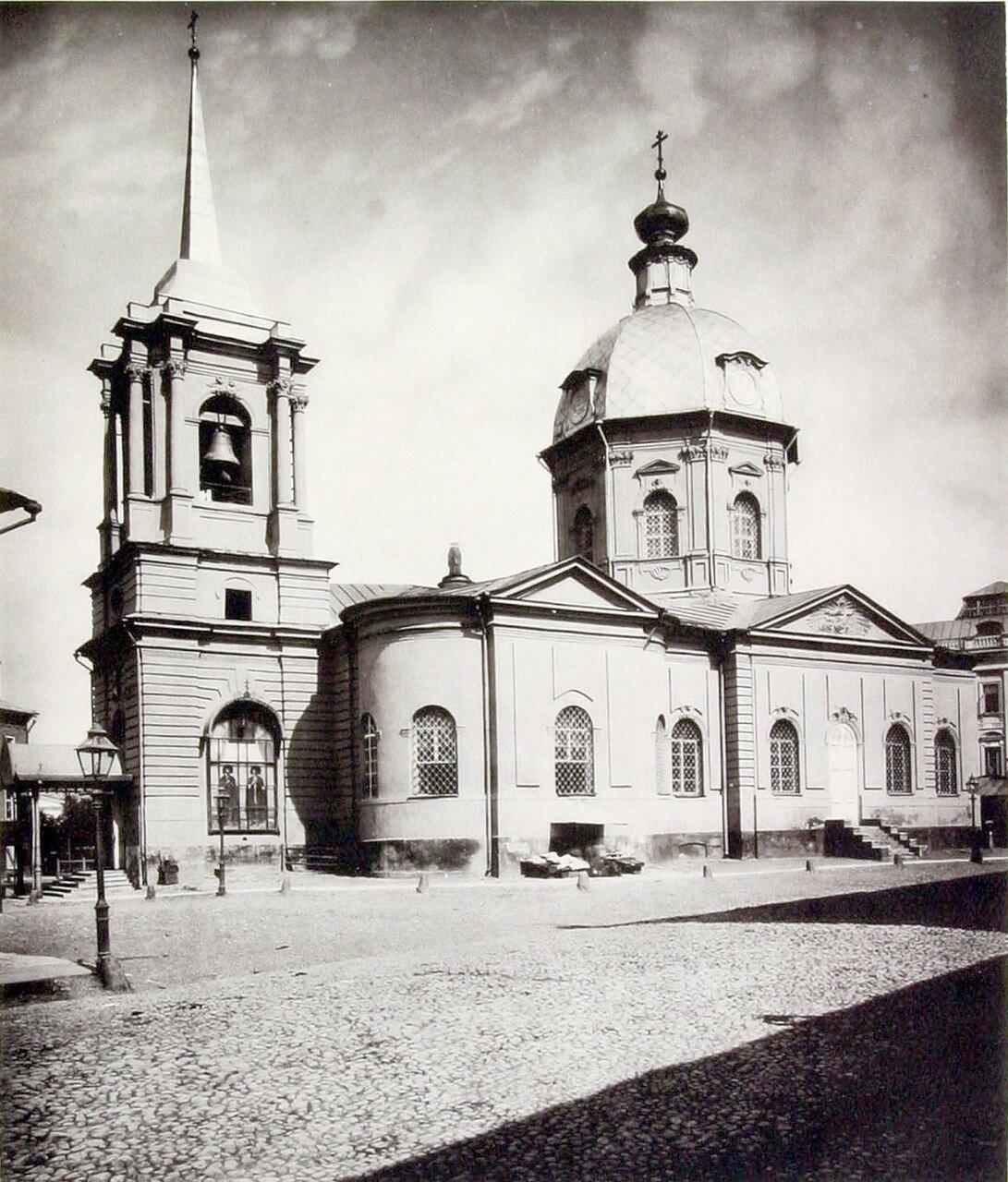 383. Церковь св. Бориса и Глеба у Арбатских ворот