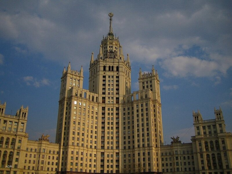 сталинская высотка на Котельнической набережной