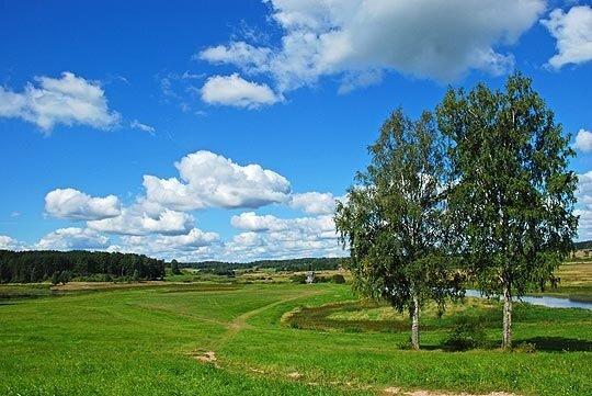 Типично русский пейзаж... 4