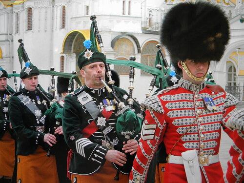 Волынщики и Шотландцы