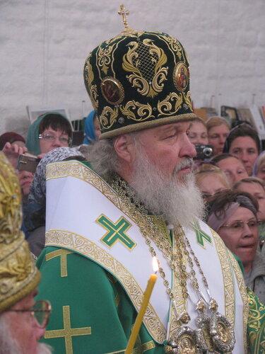 патриарх РПЦ Кирилл Гундяев