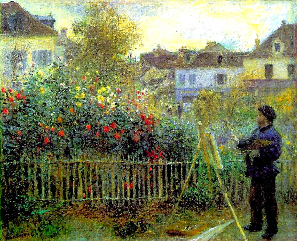 Обои Клод Моне, Пейзаж, картина. Разное