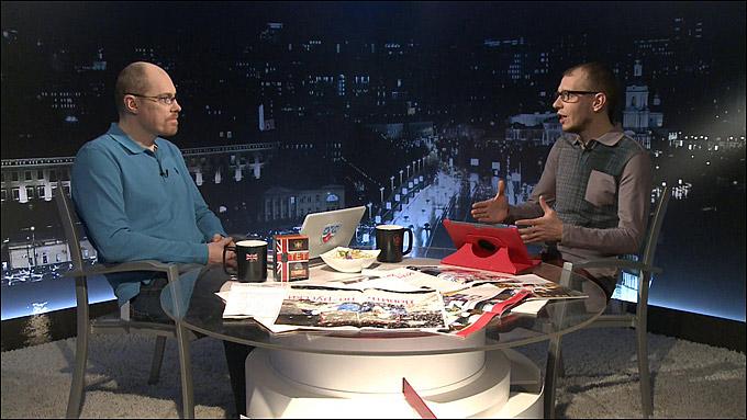 Хаванов на КХЛ ТВ