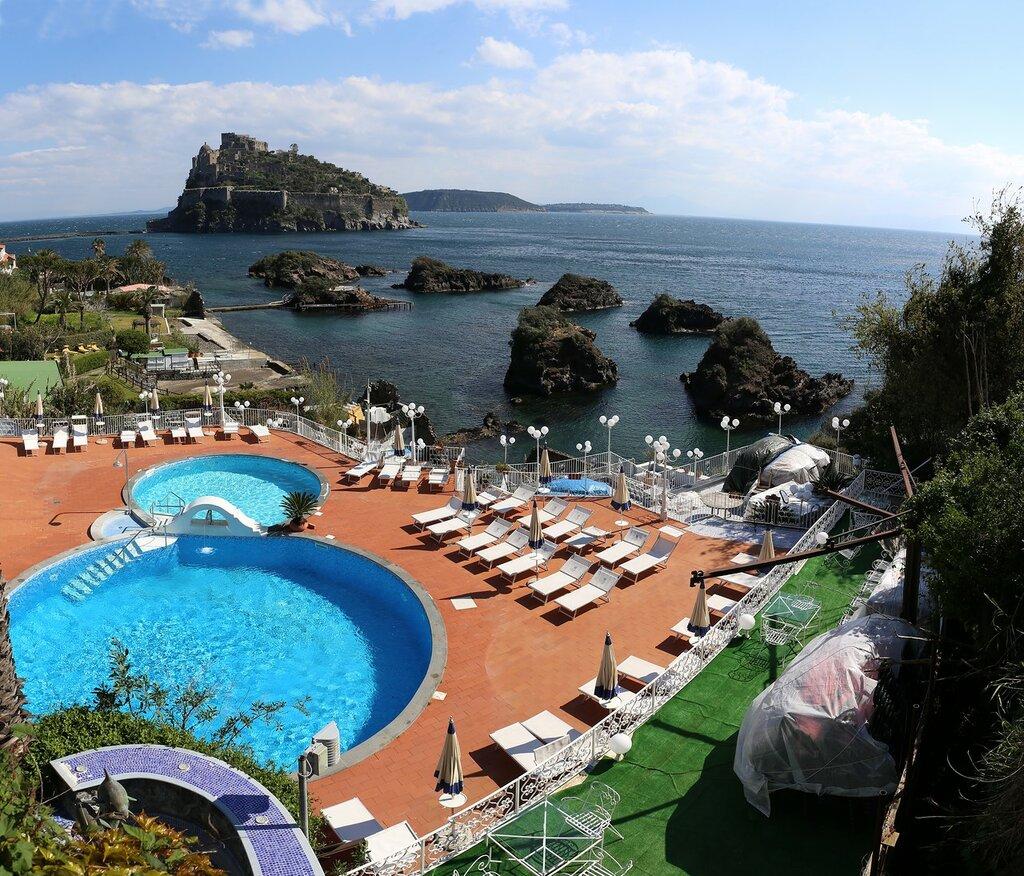 Искья. Strand Hotel Delfini 4*