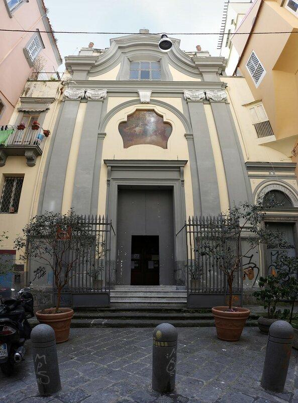 Naples. Church of Santa Maria Dell'aiuto (Chiesa di Santa Maria Dell'aiuto)