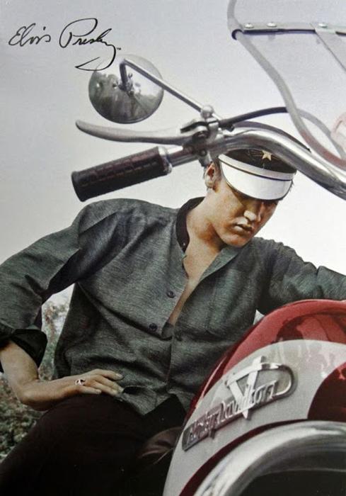 Тайная страсть короля рок-н-ролла. Элвис Пресли и его мотоциклы