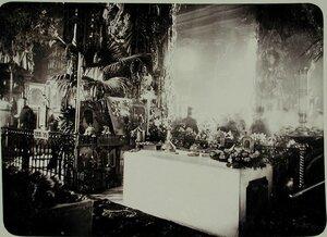 Могила императора Александра III  в усыпальнице Петропавловского собора