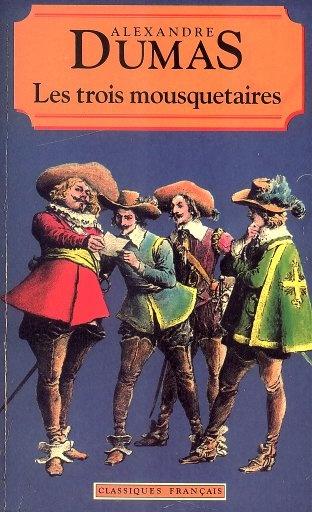 Книга Les trois mousquetaires
