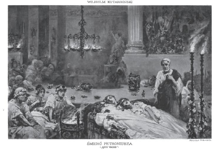 Śmierć Petroniusza by Wilhelm Kotarbiński