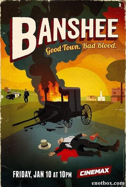 Банши / Banshee - Сезоны 1-2 [2013-2014, HDRip, HDTVRip | BDRip, HDTV 720p] (Amedia)