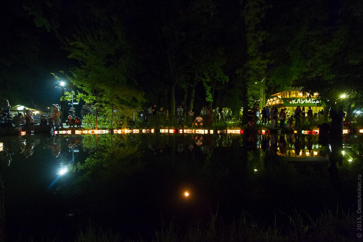 Фестиваль водных фонариков Саратов 11