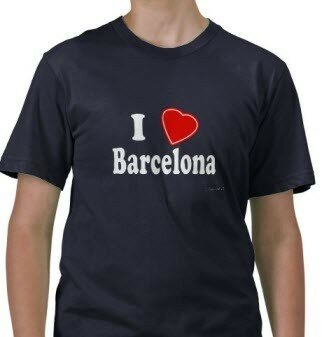 футболка барса