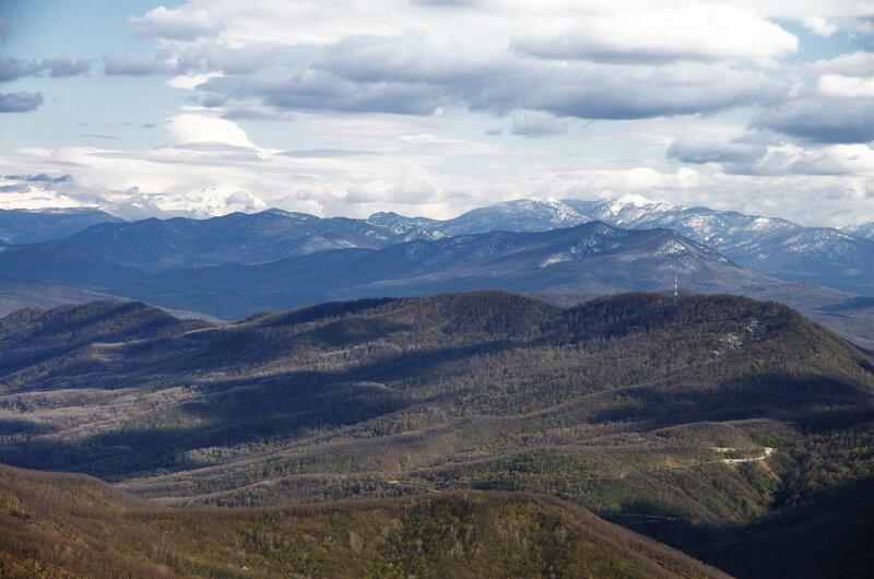 главнй кавказский хребет
