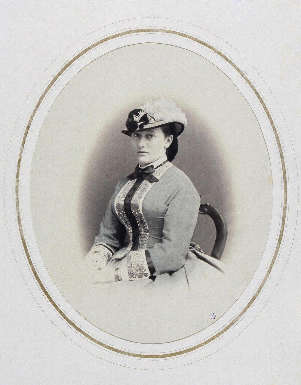 Портрет Марии Максимилиановны Баденской
