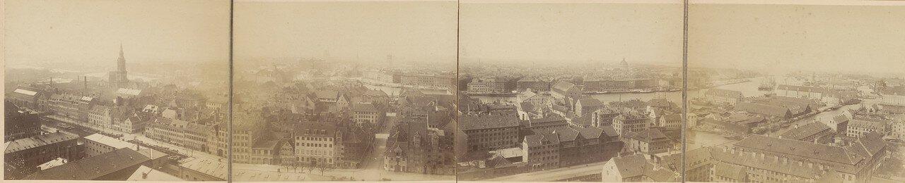 1880. Панорама Копенгагена