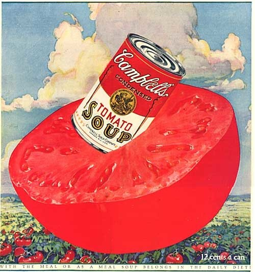 1920 S Campbell Tomato Soup Advertisement Vintage Ads