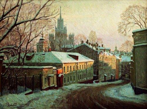 Разживин. Москва 80-х. Малая Ивановская ул.