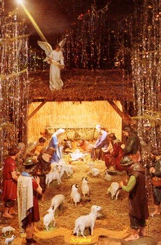 Латинський собор.Різдвяна шопка