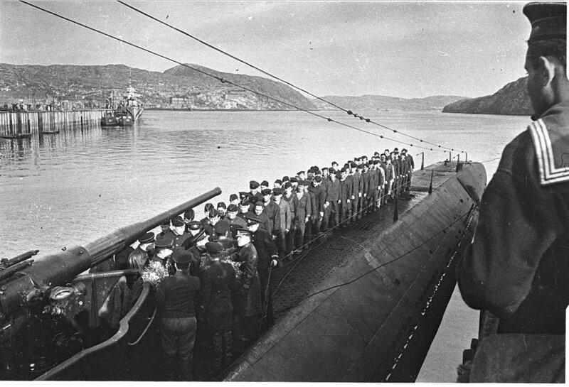 состав экипажа подводной лодки по должностям во время вов